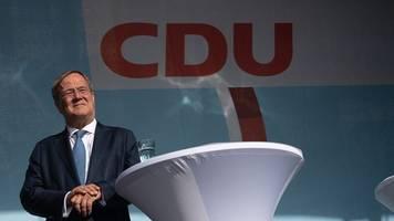 Laschet wirbt in Hessen um Stimmen: Kritik an Querdenkern