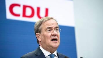 Bundestagswahl 2021   Umfrage: Union ist SPD dicht auf den Fersen