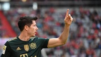 Bester Torjäger Europas: Bayern-Stürmer Lewandowski erhält Goldenen Schuh