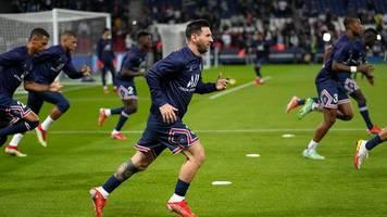 Paris Saint-Germain - Blutergüsse im Knie: Messi fehlt PSG gegen Metz