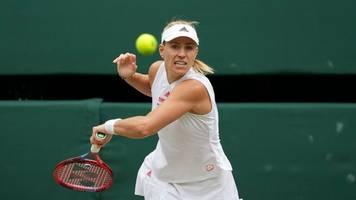 WTA-Turnier: Frühes Aus für Angelique Kerber in Ostrau