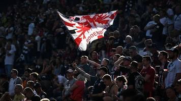 zu kurzfristig für mehr fans: eintracht wieder vor 25.000