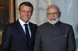 macron sucht schulterschluss mit indien im indopazifik