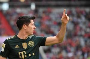 Bayern-Stürmer Lewandowski erhält Goldenen Schuh