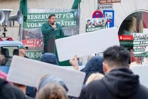 Neonazi-Demo befeuert Debatte über Verbot von Partei Der III. Weg