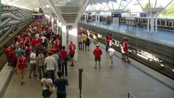 18,60 Euro - Wegen kuriosem Ticket-Preis werden einige Bayern-Fans wohl zu Schwarzfahrern