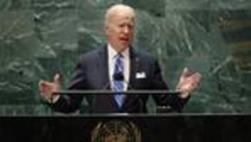 UN-Generalversammlung: Joe Biden ruft zum Zusammenhalt in der Pandemie auf