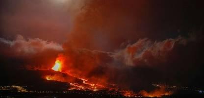 La Palma und der Vulkanausbruch: Bilder wie aus Mordor