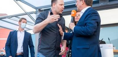 Bundestagswahl: Susanne Hennig-Wellsow (Linke) fordert Aus für CDU-Werbespot mit »Querdenker«-Szene