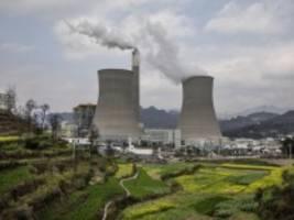 Klimapolitik: China stoppt den Bau von Kohlekraftwerken im Ausland