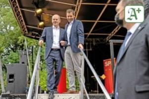 Bundestagswahl: Klima-Aktivisten stören Wahlkampftermine von Olaf Scholz