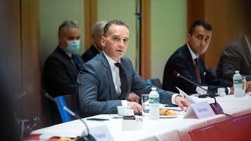 Konflikt in Nordafrika: Maas macht bei Abzug ausländischer Söldner aus Libyen Druck