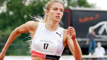 Laufsteg statt Rennbahn: Olympionikin Alica Schmidt gibt Modeldebüt