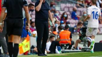 FC Barcelona: Trainer Koeman verliest Erklärung und bittet um Geduld
