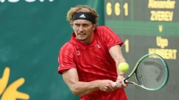 Tennis-Olympiasieger: Zverev unterschreibt Vertrag mit Turnier in Halle