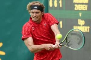 Zverev unterschreibt Vertrag mit Turnier in Halle