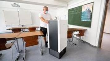 Mobile Luftfilter an Schulen: Es ist noch kein Geld geflossen
