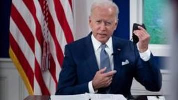 US-Präsident Biden kündigt globale Impfkampagne an