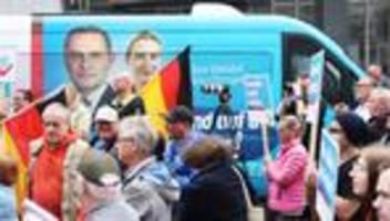AfD im Bundestagswahlkampf: Wenn nichts mehr zieht