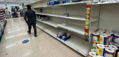 Großbritannien nach Brexit: Lebensmittel-Versorgung »auf Messers Schneide«