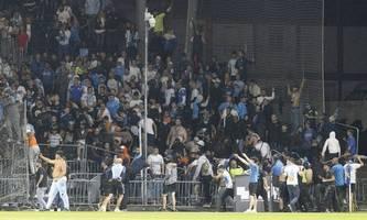 Erneut Randale im französischen Fußball