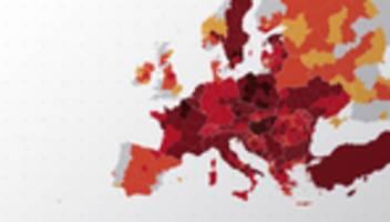 Corona-Zahlen: Coronavirus in Europa und der Welt – alle Zahlen im Überblick