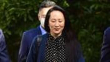 Meng Wanzhou: Finanzdirektorin von Huawei darf 2022 nach China zurückkehren