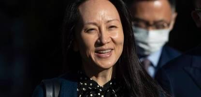 kanada: huawei-finanzchefin meng wanzhou kommt frei