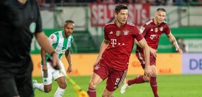 Bundesliga: Fürth verliert gegen Bayern München, aber stoppt Robert Lewandowski