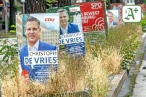 bundestagswahlkampf 2021: spitzenkandidaten machen zum finale einen bogen um hamburg