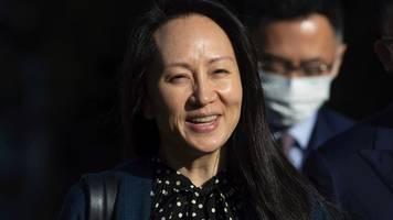us-justiz und huawei-managerin erzielen einigung