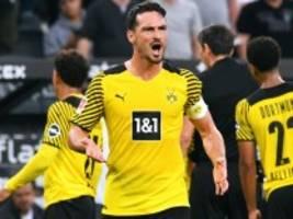 Niederlage in Mönchengladbach: Dortmunds Unglück ist perfekt