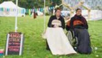 Berlin: Klimaaktivisten beenden Hungerstreik