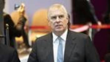 Epstein-Skandal: Prinz Andrew akzeptiert Zustellung der Missbrauchsklage