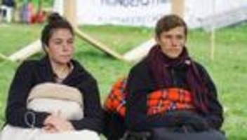 Hungerstreik: Klimaaktivisten in Berlin trinken im Hungerstreik auch nicht mehr