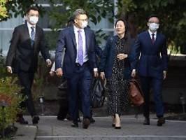 im gegenzug für huawei-managerin: china lässt inhaftierte kanadier frei