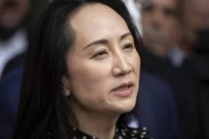 USA und Kanada vs. China: Huawei-Finanzchefin geht Deal mit USA ein - Kanadier frei