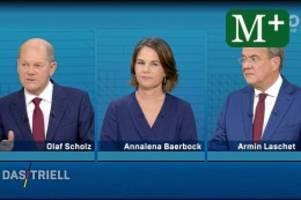 Bundestagswahl: Wahlkampf: Die wichtigsten Momente der drei Kandidaten
