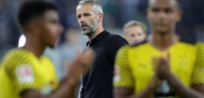 Bundesliga: Rückkehr von BVB-Trainer Marco zu Borussia Mönchengladbach ging schief