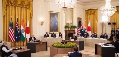 Eindämmung Chinas: USA und Partner wollen Einfluss im Indopazifik ausbauen