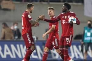 Fußball-Bundesliga: Rot und Gegentor in Fürth: FC Bayern legt mit 3:1 vor
