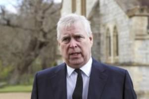 Adel: Streit um Zivilklage gegen Prinz Andrew beendet