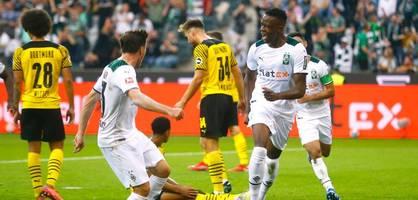 Zakaria schockt Dortmund, Dahoud sieht Gelb-Rot – Die Highlights im Video