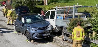 Deutscher fährt in Almabtrieb – Sechs Verletzte