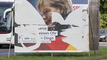 Bundestagswahl 2021 | Wahlkampf – Polizei registriert Tausende Straftaten