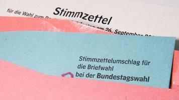 Rund 1, 7 Millionen können sich an Bundestagswahl beteiligen