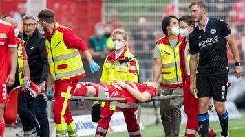 Spiel gegen Bielefeld: Union-Verteidiger Baumgartl erleidet Gehirnerschütterung