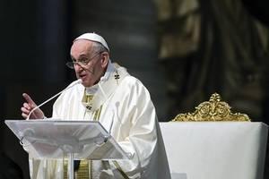 Papst Franziskus geht aufs Ganze