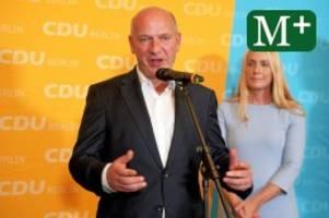 CDU in Berlin: CDU liefert in Berlin ein blasses Ergebnis