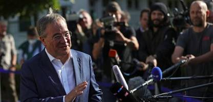 Bundestagswahl 2021: Armin Laschet beansprucht Kanzleramt für die CDU/CSU